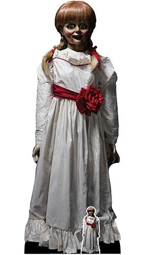 Annabelle Doll Lifesize Cardboard Cutout 129cm