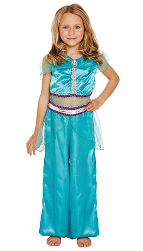 Arabian Princess Children Fancy Dress Costume 4-6 Years - Small Product Image