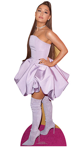 Ariana Grande Star Mini Cardboard Cutout 90cm