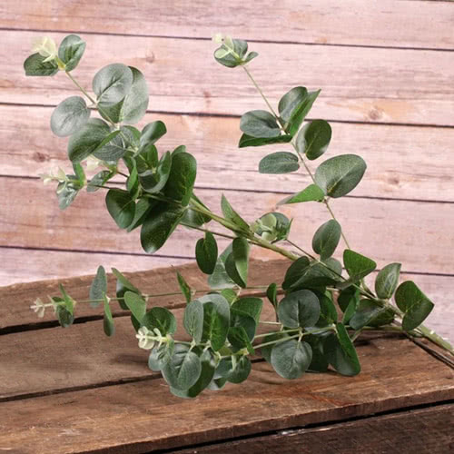 Artificial Green Eucalyptus Spray 84cm