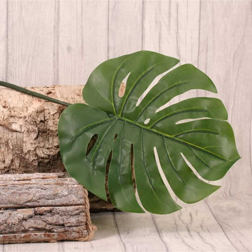 Artificial Real Touch Large Philo Tropical Leaf 94cm