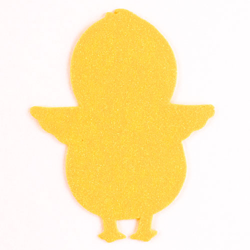 Arts & Crafts Easter Chick Foam Shapes - Pack of 12  Product Image