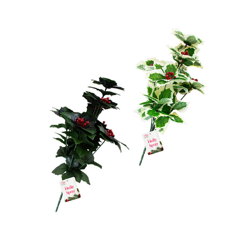 Assorted Christmas Holly Bouquet Decoration Product Image