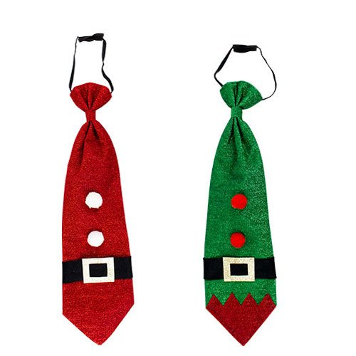 Assorted Christmas Novelty Tie Fancy Dress Product Image