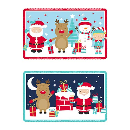 Assorted Christmas Plastic Tray 30cm Product Image