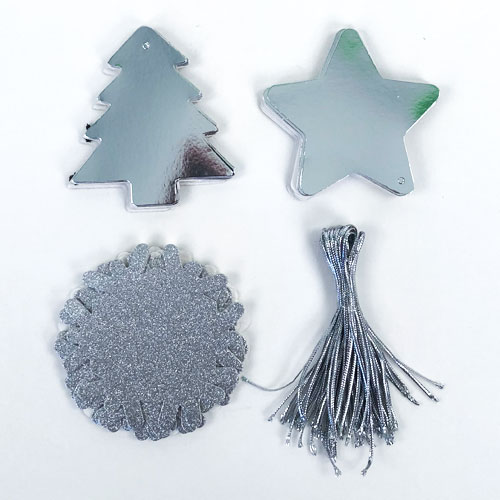 Assorted Colours Christmas Gift Tags - Pack of 36 Product Gallery Image