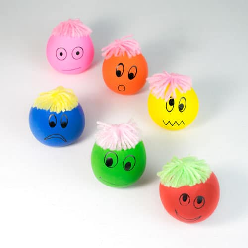 Assorted Colours Moody Squeeze Face Product Image