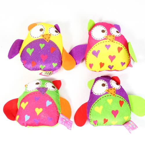 Assorted Cute Owl Cuddly Soft Toy 11cm