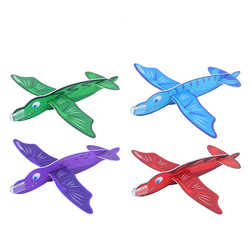 Assorted Dinosaur Gliders Toy 17cm