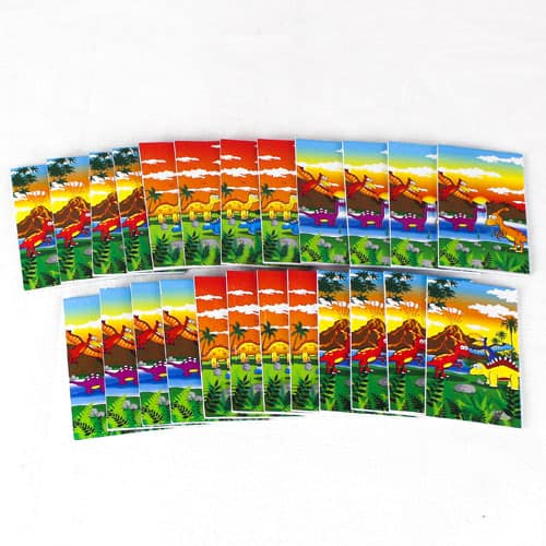 Assorted Dinosaur Mini Notebooks - Pack of 24 Product Image