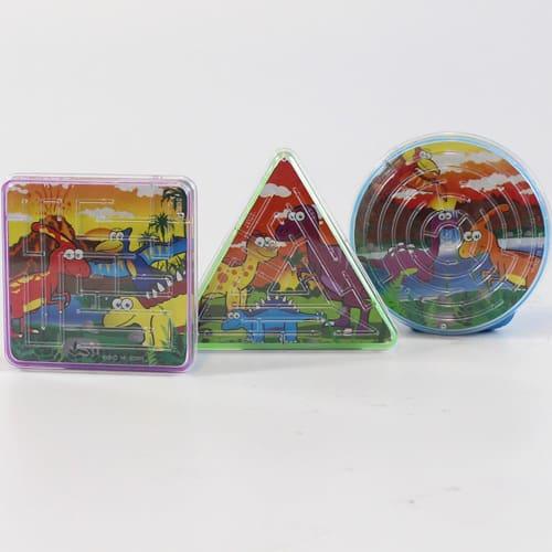 Assorted Dinosaur Puzzle Maze Product Image