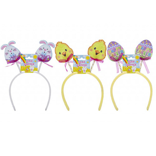 Assorted Easter Characters Boppers Headband Fancy Dress