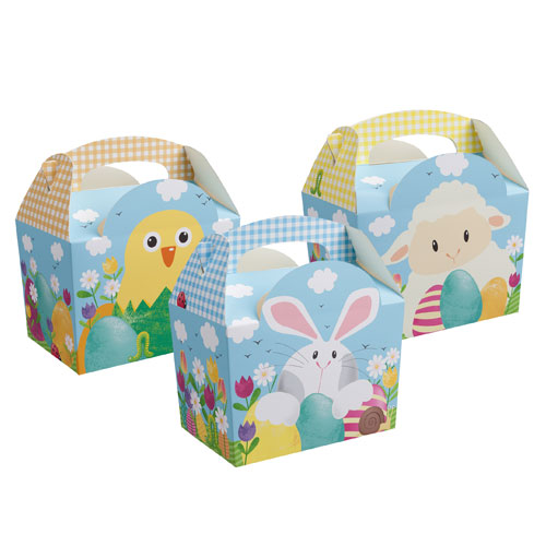Assorted Easter Compostable Paper Party Box Product Image