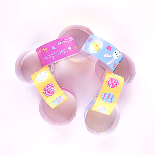 Assorted Easter Decorative Paper Chain Strips - Pack of 30 Product Image