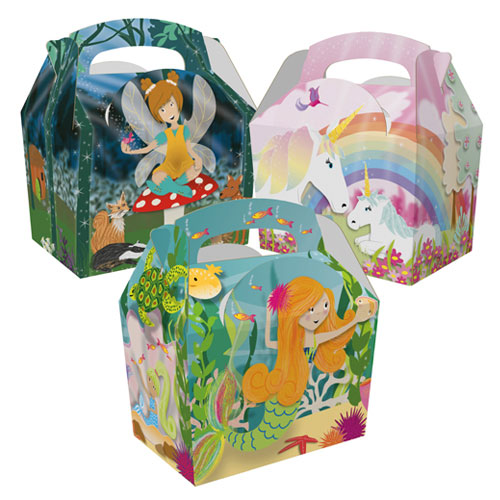 Assorted Fairytales Compostable Paper Party Box