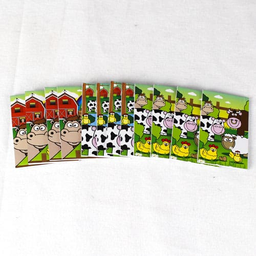 Assorted Farm Mini Notebooks - Pack of 12 Product Image