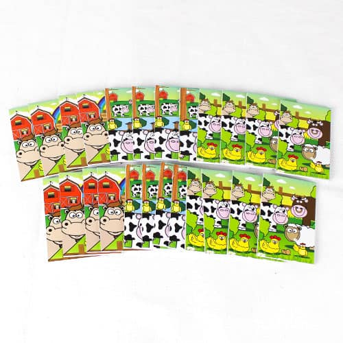 Assorted Farm Mini Notebooks - Pack of 24 Product Image