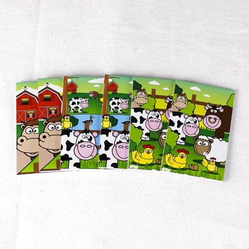Assorted Farm Mini Notebooks - Pack of 6 Product Image