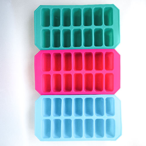 Assorted Flexible Ice Cubes Tray 22cm Product Image