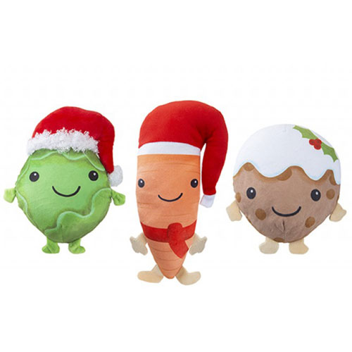 Assorted Food Plush Christmas Toy Stocking Filler Product Image