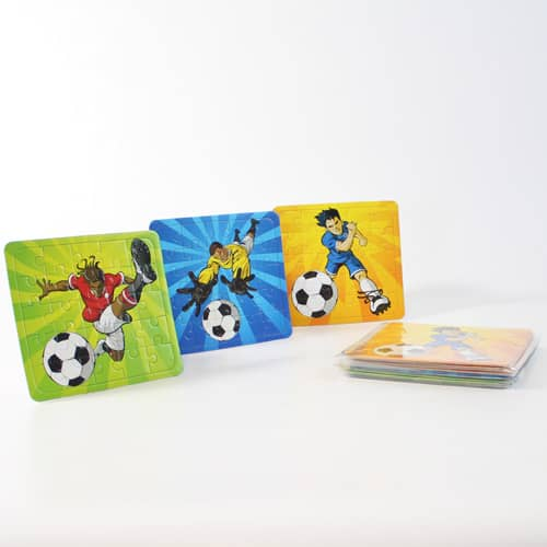Assorted Football Jigsaw Puzzle - Pack of 12 Product Image