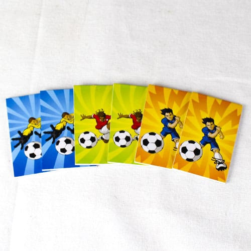 Assorted Football Mini Notebooks - Pack of 6