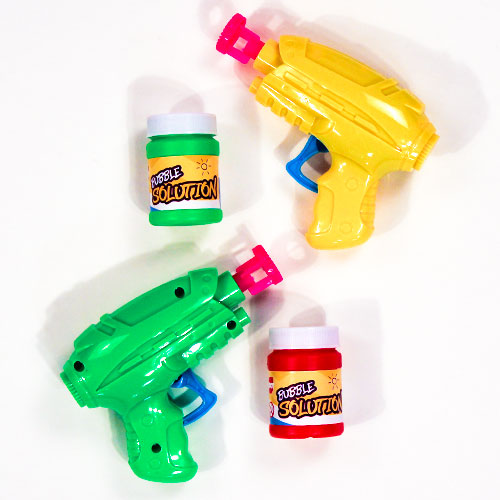 Assorted Friction Bubble Gun Toy Set Product Image