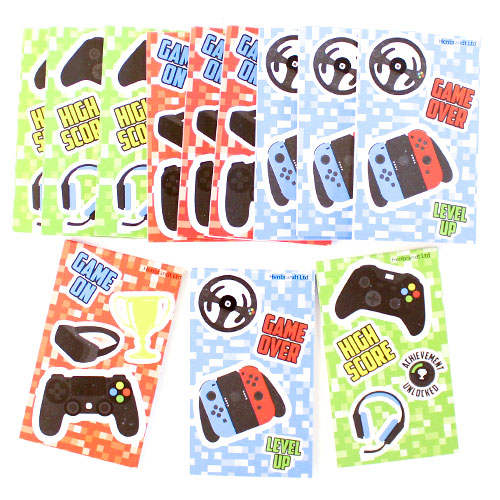 Assorted Gamer Mini Notebooks - Pack of 12 Product Image