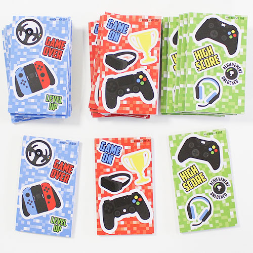 Assorted Gamer Mini Notebooks - Pack of 24 Product Image