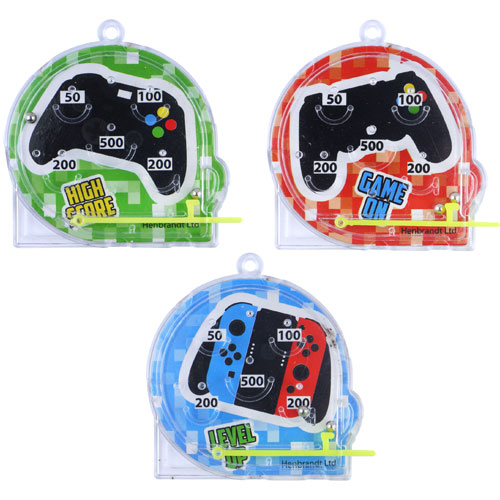 Assorted Gamer Mini Pinball Game Product Image