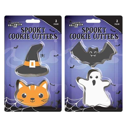 Assorted Halloween Cookie Cutters - Pack of 2 Product Image