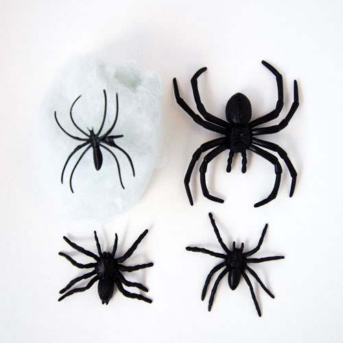 Assorted Halloween Creatures with Cobweb Set Product Gallery Image