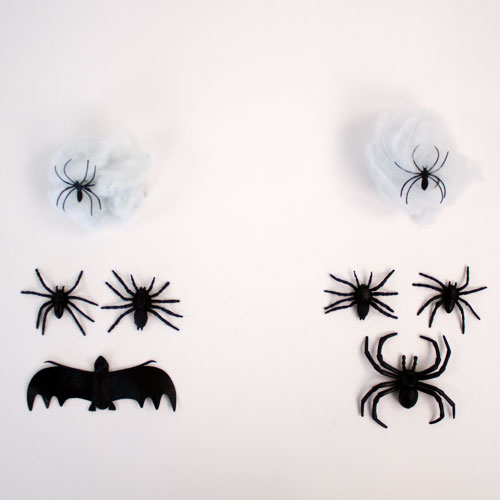 Assorted Halloween Creatures with Cobweb Set Product Image