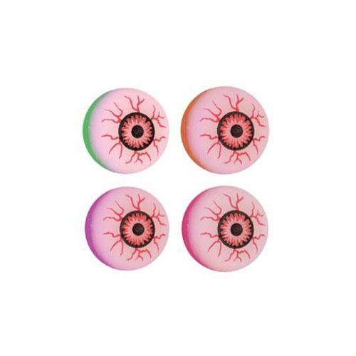 Assorted Halloween Evil Eye Bounce Ball 3cm