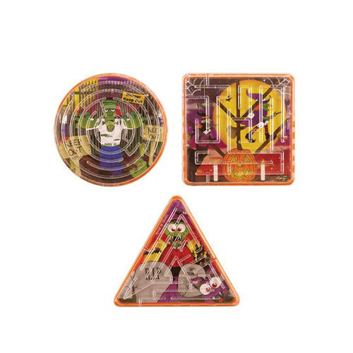 Assorted Halloween Maze Puzzle 6cm Product Image