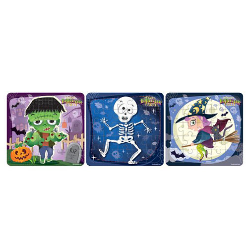 Assorted Halloween Mini Jigsaw Puzzles Product Image