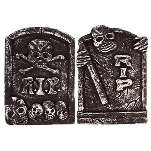 Assorted Halloween Spooky Tombstone 36cm Product Image