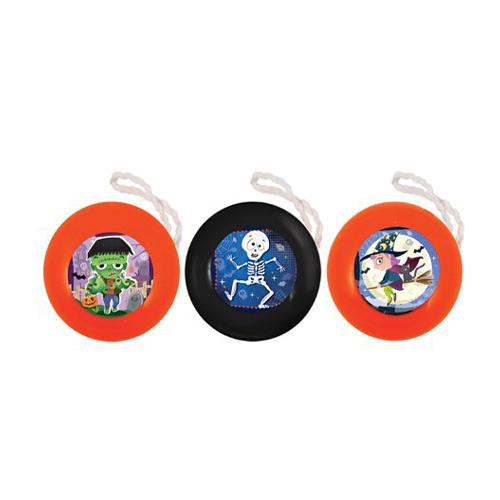 Assorted Halloween Yo-Yo Toy 4cm Product Image