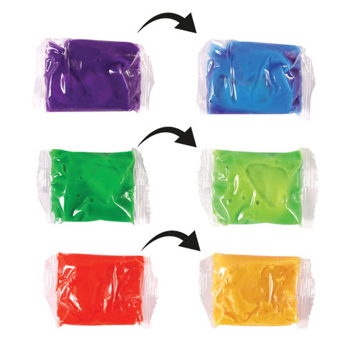 Assorted Heat Sensitive Colour Changing Putty 7cm