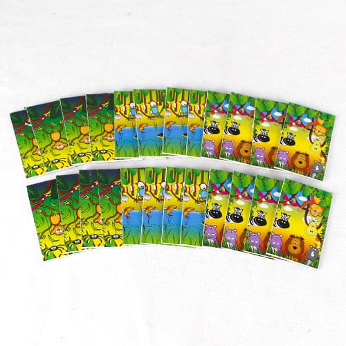 Assorted Jungle Mini Notebooks - Pack of 24 Product Image