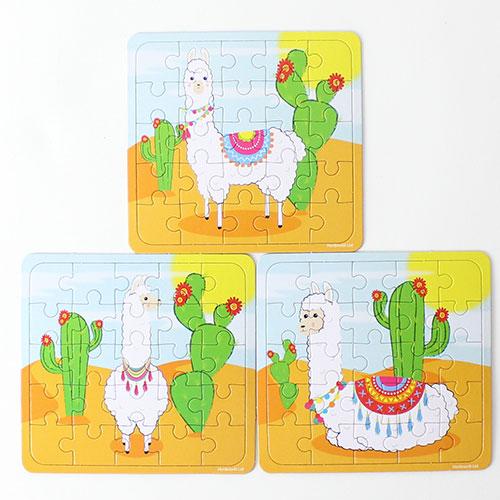 Assorted Llama Jigsaw Puzzle Product Image