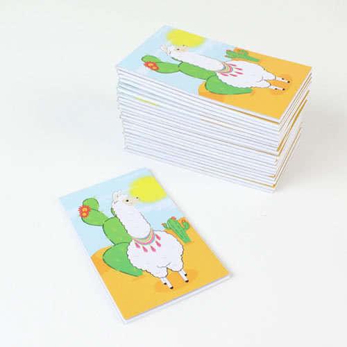Assorted Llama Mini Notebooks - Pack of 24 Product Image