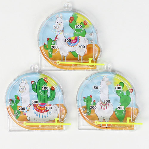 Assorted Llama Mini Pinball Game