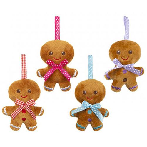 Assorted Mini Christmas Gingerbread Plush