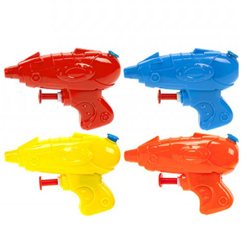 Assorted Mini Space Plastic Water Gun 9cm Product Image
