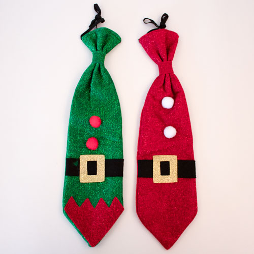 Assorted Novelty Tie Christmas Fancy Dress Product Image