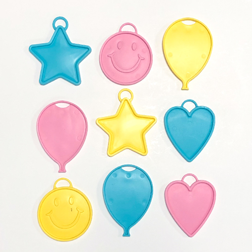 Assorted Pastel Plastic Balloon Weight 15g Product Image