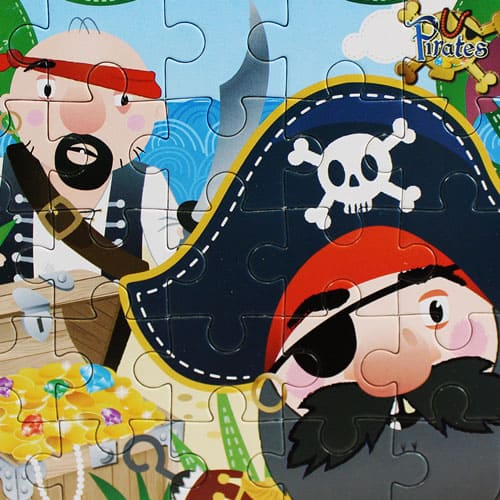 Assorted Pirate Jigsaw Puzzle Product Gallery Image