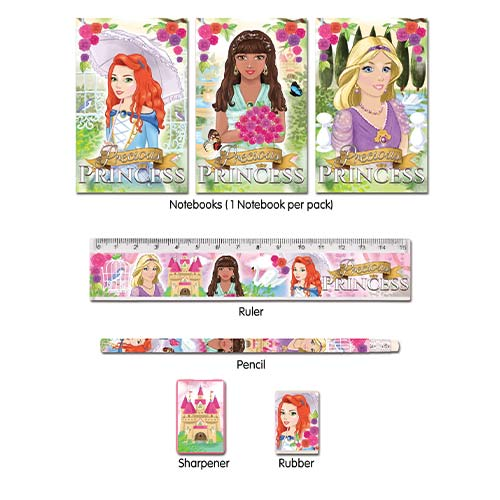 Assorted Princess Stationery Favour Set Product Image