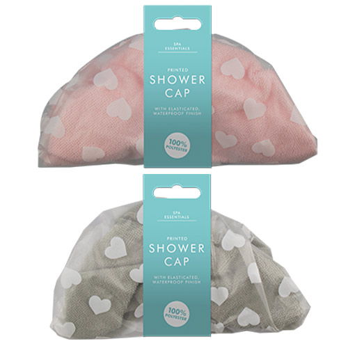 Assorted Printed Shower Cap Product Image